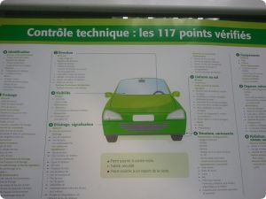 tarifs point contr le technique automobile