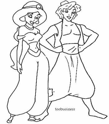 Index Of Portail Images Article Coloriage Aladin