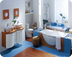 Agencement et am nagement salle de bains - Agencement salle de bain en longueur ...