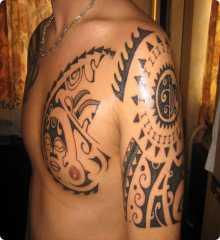 mod le dessin de tatouage maori. Black Bedroom Furniture Sets. Home Design Ideas